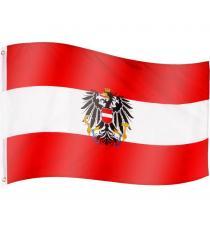 FLAGMASTER Vlajka Rakousko, 120 x 80 cm