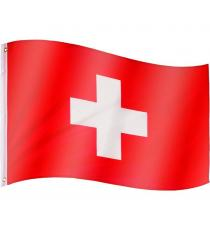 FLAGMASTER Vlajka Švýcarsko, 120 x 80 cm