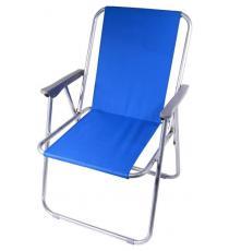 Kempingová skládací židle BERN - modrá