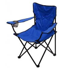 Kempingová skládací židle BARI - modrá