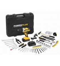 Powerplus aku vrtačka 20 V + 133 ks příslušenství