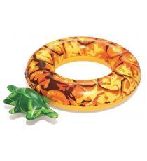 Nafukovací kruh ananas - 116 cm