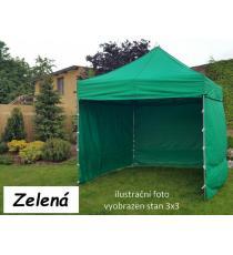 Zahradní párty stan PROFI STEEL 3 x 6 - zelená