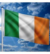 Vlajkový stožár vč. vlajky Irsko - 650 cm
