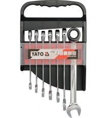 Sada klíčů očkoplochých - 7 ks, 10-19 mm