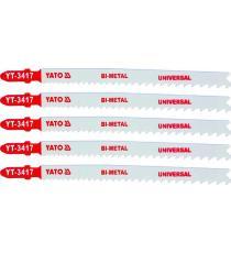 List pilový do přímočaré pily 130 mm UNI TPI10-5, 5 ks