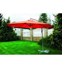 Zahradní slunečník EXCLUSIVE boční - terracota