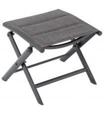 Sklopná hliníková stolička, šedá