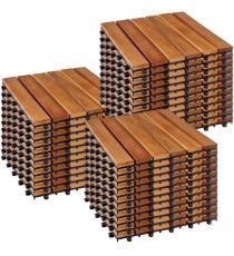 STILISTA dřevěné dlaždice, klasik, akát, 3 m²