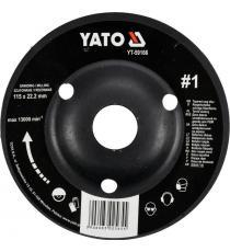 YATO Rotační rašple úhlová hrubá, 115 mm, typ 1